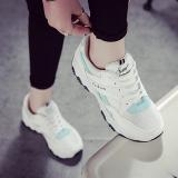 Promo Mei Zi Pijakan Empuk Siswa Sepatu Travel Musim Panas Olahraga Sepatu Biru Di Tiongkok