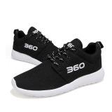 Spesifikasi Pria Wanita Sepatu Laki Laki Nyaman Sepatu Mesh Breathable Women Fashion Sepatu Sepatu Lari Hitam Murah