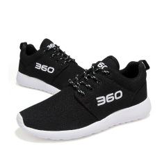 Toko Pria Wanita Sepatu Laki Laki Nyaman Sepatu Mesh Breathable Women Fashion Sepatu Sepatu Lari Hitam Online Terpercaya