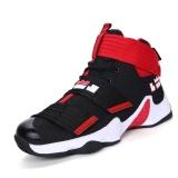 Promo Pria Dan Wanita Basket Sepatu Nyaman Pelatihan Sneakers Tinggi Upper Bernapas Pasangan Olahraga Sepatu Plus Ukuran 36 45 Intl