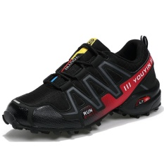 Beli Pria Anti Skid Hiking Sepatu Bernapas Nyaman Outdoors Sepatu Plus Ukuran 39 48 Intl Cicilan