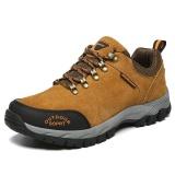 Beli Pria Anti Skid Hiking Sepatu Bernapas Nyaman Outdoors Sepatu Plus Ukuran 39 49 Intl Online Terpercaya