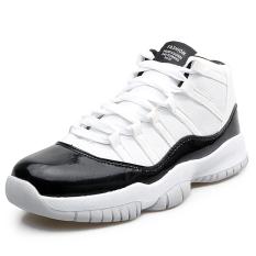 Pria Basket Sepatu 2016 Perempuan Ankle Boots Anti Slip Outdoor Sport Sneakers (Putih)-Intl