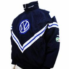 Spesifikasi Pria Biru Vw Volkswagen Jaket Moto Motor Auto F1 Sport Musim Dingin Mantel Jaket Intl Yang Bagus Dan Murah