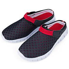 Laki-laki Bernapas Jala Sandal Bakiak Sandal Pantai (Biru & Merah) (ต่างประเทศ)