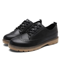 Diskon Besarmen Business Leather Shoes Flat European Casual Shoes Intl