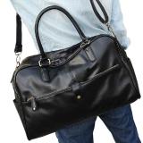 Toko Men Casual Faux Leather Large Tote Black Terlengkap