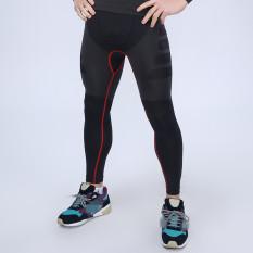 Spesifikasi Dasar Laki Laki Comperssion Celana Panjang Ketat Of What Lapisan Tebal Kulit Serta Under The Sports Hitam Merah Intl Terbaru