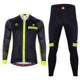 Spesifikasi Pria Bersepeda Set Pakaian Lengan Panjang Hitam Intl Dan Harganya