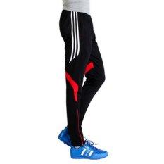Kualitas Pria Elastisitas Sepak Bola Bersepeda Cepat Kering Breathable Pants Tipe 4 Intl Oem