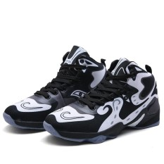 Toko Men Fashion Basketball Shoes Male Sports Sneakers High Top Basketball Sneakers Outdoor Shoes Intl Termurah Tiongkok