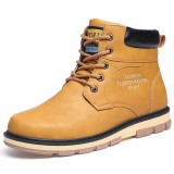 Harga Men Fashion Boots Male Desert Boot Work Boots Shoes Intl Yang Murah