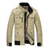 Beli Pria Fashion Jaket Jaket Windproof Musim Dingin Mantel Khaki Dengan Kartu Kredit