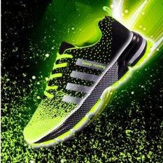Beli Pria Fashion Sneakers Berlari Olahraga Sepatu Kasual Hijau Intl Oem Asli