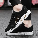 Cara Beli Men Fashion Sneakers Shoes Male Lace Up Breathable Sports Outdoor Sneakers Shoes Intl