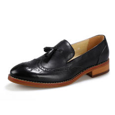 Harga Pria Fashion Rumbai Pantofel Hitam Lengkap