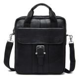 Pria Kulit Asli Tas Crossbody Vintage Tas Bisnis Dual Use Handbag Intl Tiongkok