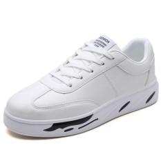 Beli Men High Quality Fashion Casual Shoes Skateborading Shoes Pu Leather Sneakers Intl Oem Dengan Harga Terjangkau
