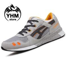 Harga Men High Quality Mesh Breathable Running Shoes Sport Shoes Fashion Comfortable Sneakers Badminton Shoes Intl Merk Oem