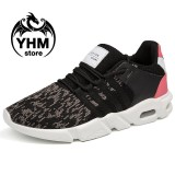 Harga Men High Quality Mesh Breathable Sport Shoes Fashion Air Cushion Elasticity Sneakers Intl Online Tiongkok