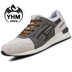Promo Men High Quality Mesh Breathable Sport Shoes Fashion Cool Sneakers Comfortable Running Shoes Intl Oem Terbaru