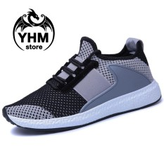 Beli Men High Quality Mesh Breathable Sport Shoes Outdoor Sneakers Street Shoes Intl Online Terpercaya