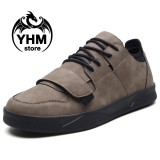 Men High Quality Velcro Casual Shoes Fashion Sport Sneakers Street Shoes Intl Tiongkok Diskon 50