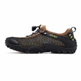 Spesifikasi Pria Hiking Sepatu Climbing Waterproof Outdoor Trekking Sepatu Leather Low Cut Sport Sepatu Gunung Intl Paling Bagus