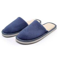 Harga Pria Sandal Indoor Winter Warm Anti Slip Sepatu Katun Lembut Rumah Kayu Cendana Internasional Seken