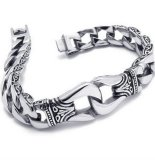 Jual Men Jewelry Kerf Bracelet Titanium Steel 21 Cm Gelang Pria Men S Jewelry Murah