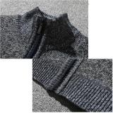 Dapatkan Segera Pria Merajut Cotton Stand Berdiri Zipper Hangat Musim Dingin Mantel Tebal Jaket Gy L Intl