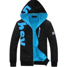 Harga Korea Slim Hooded Sweater Jaket Mantel Oem