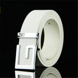 Jual Men Korean Style G Letter Belt Mbt885103 5 White Oem Di Tiongkok