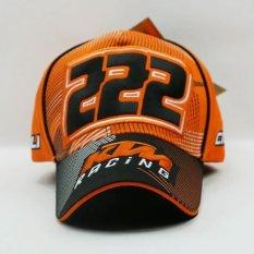 Pria KTM F1 Moto GP Motorcycle Race Baseball Hat Cap Sport Golf Sunhat  Snapback (hitam 858e82adfa