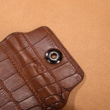 Men Leather Clutch Pockets Wallet Id Bifold Business Credit Brown Intl Diskon Akhir Tahun