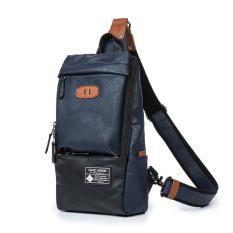Diskon Pria Messenger Sling Bag Uy150032 Biru Intl Branded
