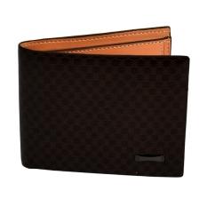 Spesifikasi Pria Uang Dompet Kantong Dompet Dompet Kartu Id Clutch Bifold Wallet Dark Brown Intl Yang Bagus Dan Murah