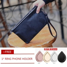 Beli Pria Nilon Kamuflase Dompet Bisnis Envelope Bag Clutch Kenyamanan Oxford Clotch Handbag Wristlet Wrist Bag Free Pemegang Telepon Cincin Hitam Kecil Intl Oem Asli