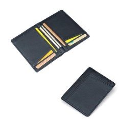 Rp 77.000. Men PU Leather Slim Bifold Credit Card Holder Mini Money Wallet ID ...