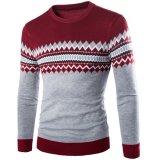 Jual Round Leher Rajutan Sweaterong Eeve Aku Fit Puover Merah Branded