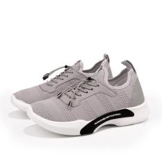 Review Pria Running Shoes Bernapas Sepatu Lari Bantalan Menjalankan Sepatu Ringan Menjalankan Sepatu Abu Abu Intl Tiongkok