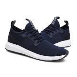 Review Terbaik Sepatu Casual Pria Olah Raga Sepatu Fashion Sneakers Runing Sepatu Mesh Sepatu Intl