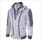 Jual Beli Men S Sweater Fake Korean Two Piece Jacket Large Size Light Grey Intl Di Tiongkok
