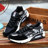Beli Men Shoes Running Shoes Men Electrocardiogram Sports Outdoor Breathable Student Training Sneakers Running Shoes Intl Di Tiongkok