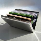 Harga Pria Stainless Steel Mini Saku Kredit Kartu Identitas Pemilik Dompet Saku Kasus Ruangan Original