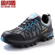 Harga Laki Laki Baja Kaki Topi Karya Keselamatan Sepatu Kasual Bernapas Kolam Hiking Lubang Perlindungan Bukti Alas Kaki Terbaik