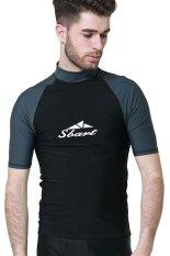 Jual Pria Pakaian Renang Panas Musim Berenang Menyelam Snorkeling Tee Lengan Bang Pendek Rashguard Berselancar T Shirt Tops Type6 Branded