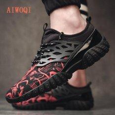 Harga Pria Unisex Sepasang Casual Fashion Casualsneakers Bernapas Athletic Olahraga Menjalankan Sepatu Aiwoqi Intl Original