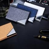 Spesifikasi Dompet Pria Bisnis Stainless Steel Nama Kredit Id Card Holder Saku Case Dompet Silver Grey Intl Merk Oem