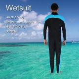 Harga Men Watersport Swimming Jumpsuit Full Body Super Stretch Diving Suit Wetsuit M Intl New